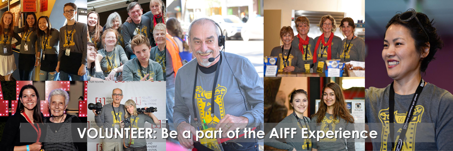 Volunteer: Be a part of the AIFF experience