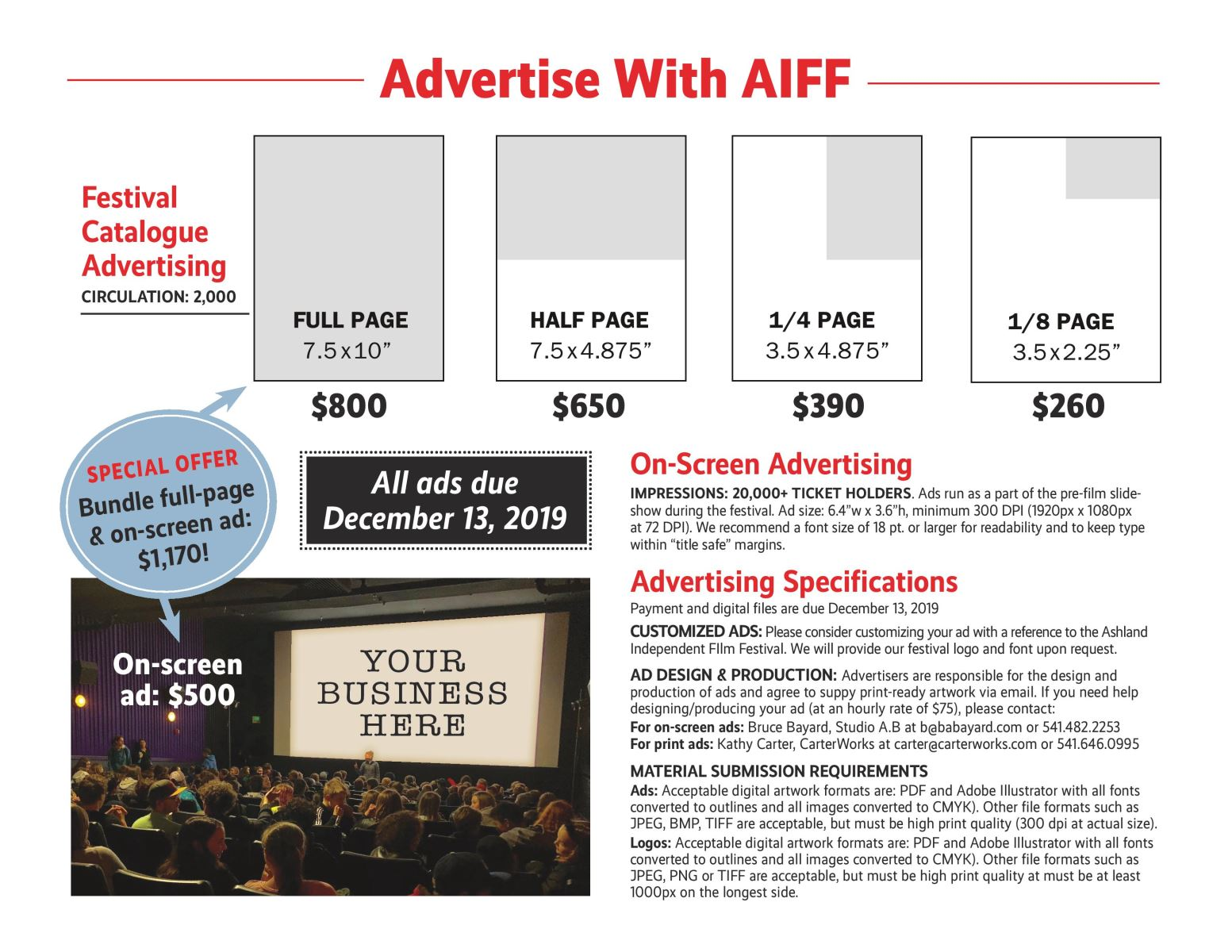 Advertise with AIFF